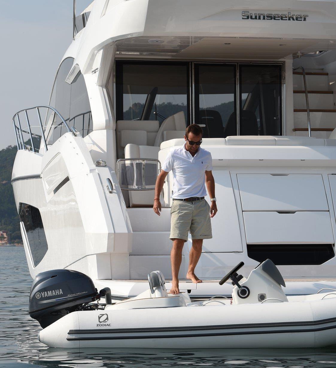 Gummibåde til din yacht
